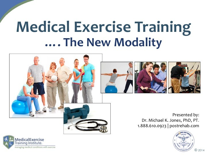 Medical Exercise Training 1
