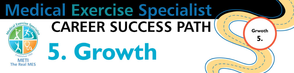 Medical Exercise Training Career Success Path - Growth